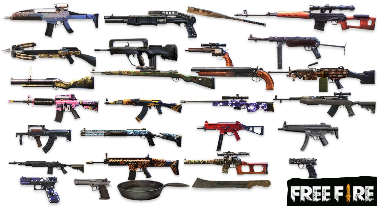 6 Kombinasi Senjata Assault Rifle Ar Terbaik Free Fire Ff Esportsku