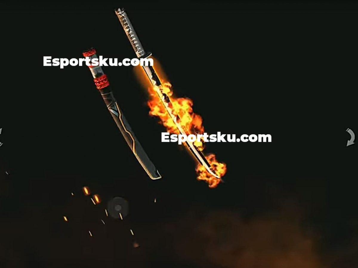 Skin Katana Api Ff Terbaru Maret Free Fire 2020 Ayo Dapatkan Esportsku