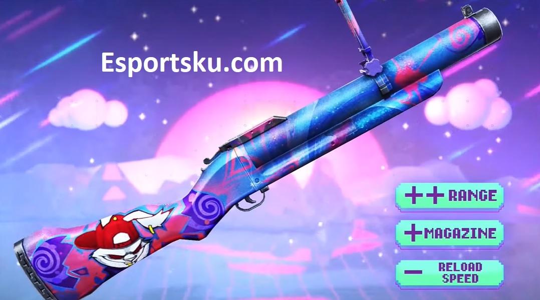 Skin Weapon Royale FF M79 Terbaru Free Fire 2020