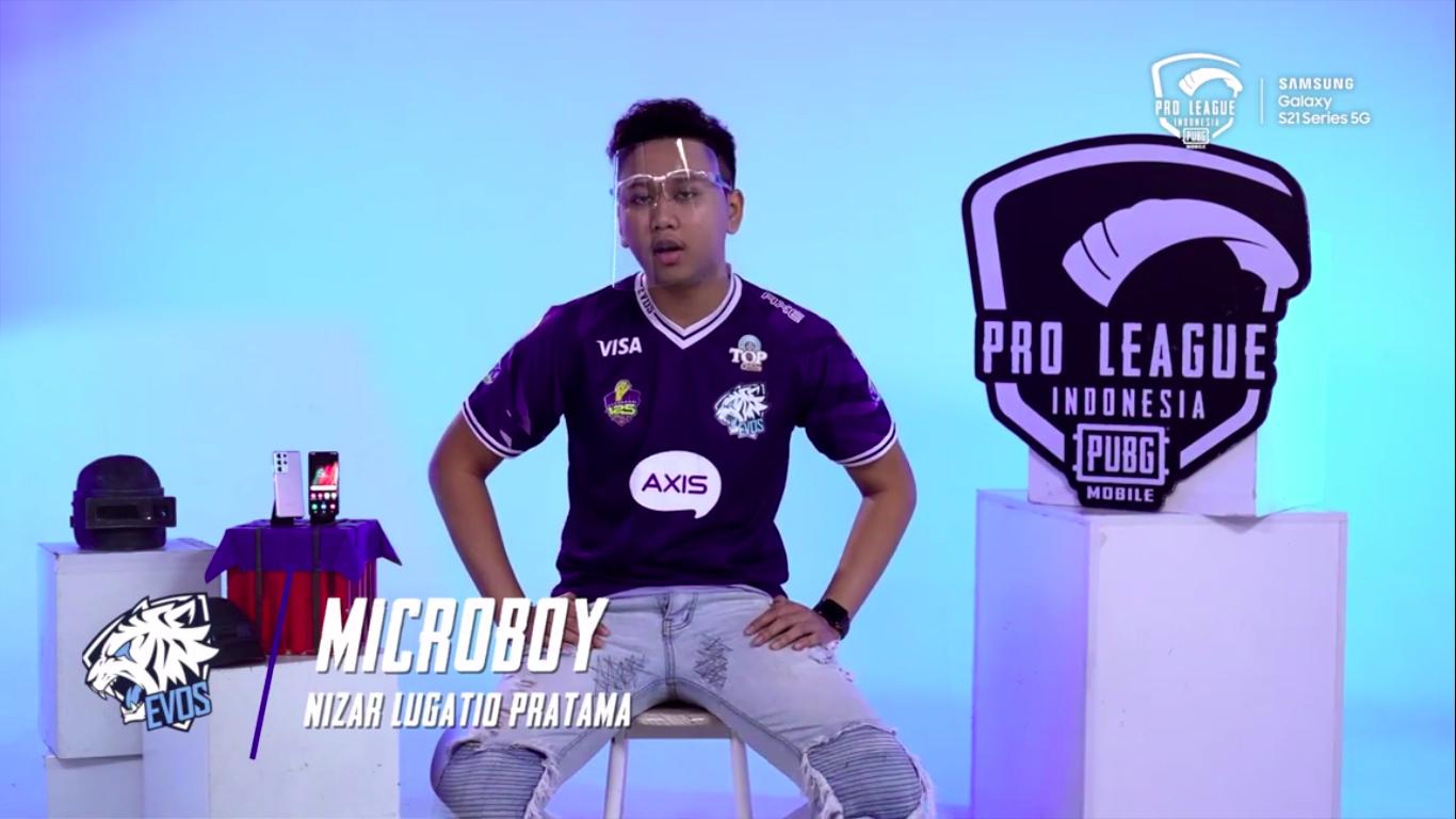 Microboy talks about the failure of EVOS Reborn at PMNC 2021