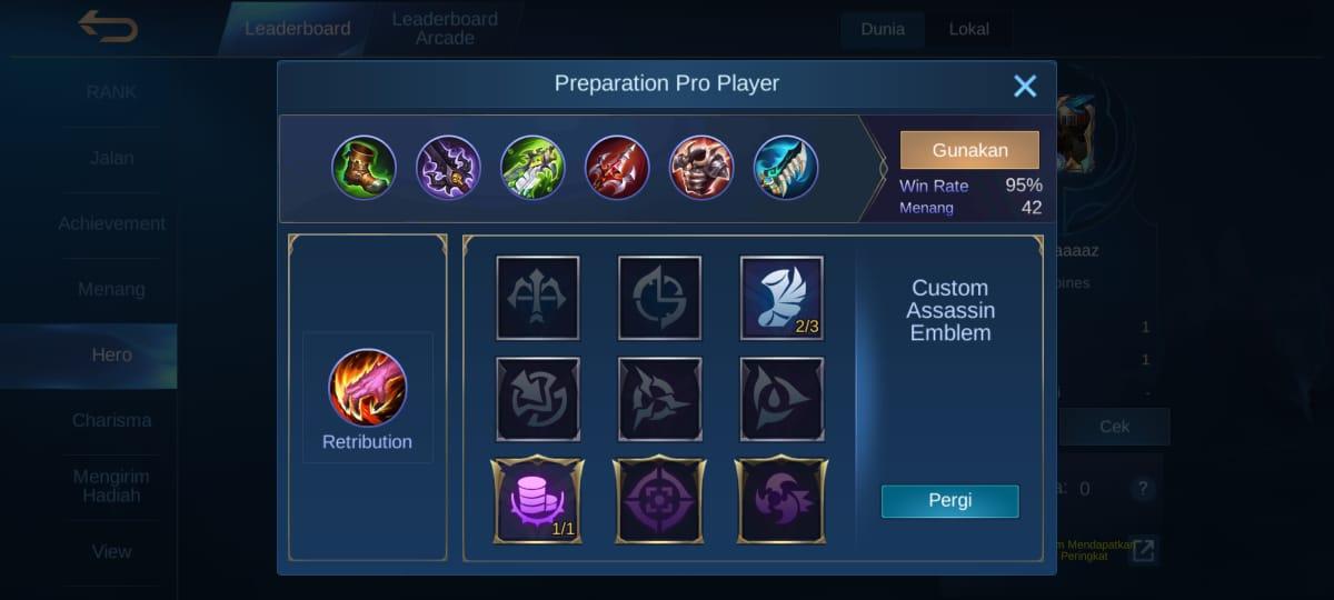 Rekomendasi Build Beatrix Tersakit Mobile Legends