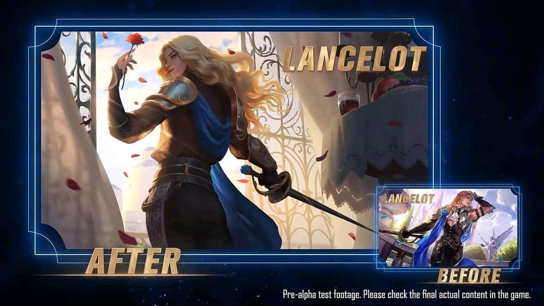 Perubahan Revamp Lancelot Mobile Legends 2021 (ML), Makin Kuat?
