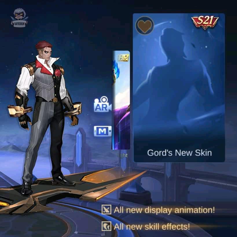 Gord Dapatkan Skin Season 21 Mobile Legends (ML)